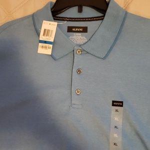 Alfani XL light blue golf shirt (brand new tags)